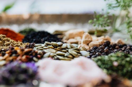 Acı biber, afresh asya otlar, aromatik, asya otlar içeren Ücretsiz stok fotoğraf