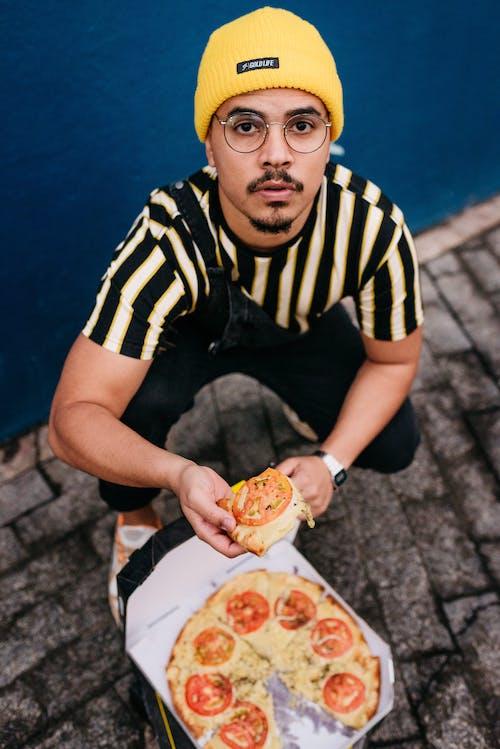 Gratis lagerfoto af caixa de pizza, comer fora, de queijo, entrega de pizza