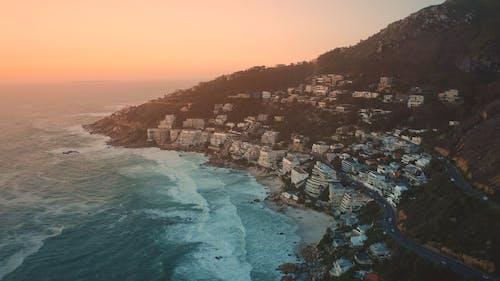 Gratis arkivbilde med Cape Town, daggry, flyfoto