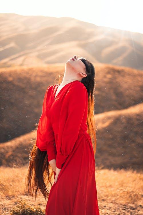 Ilmainen kuvapankkikuva tunnisteilla henkilö, ihminen, mäet, maisema