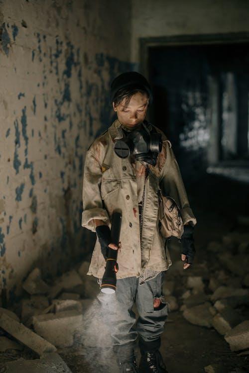 Fotobanka sbezplatnými fotkami na tému alternatívna realita, apokalypsa, baterka, budova