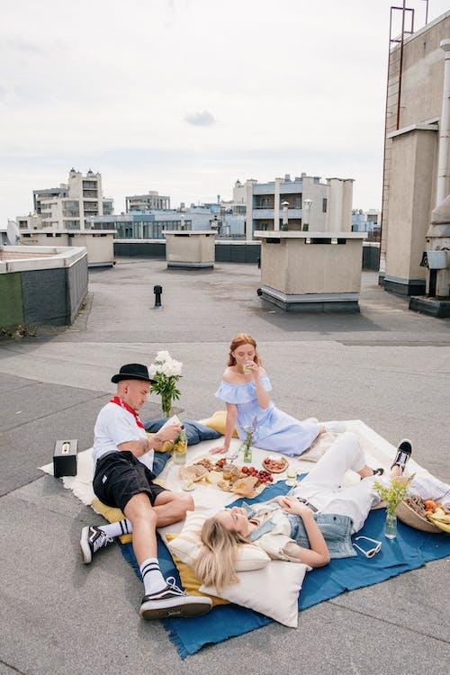 Foto stok gratis akhir minggu, akhir pekan, atap