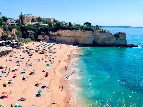 atlantik okyanusu, cennet, plaj, Portekiz içeren Ücretsiz stok fotoğraf