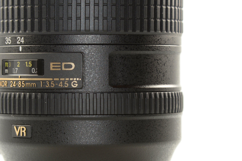 Black Vr Dslr Camera Lens