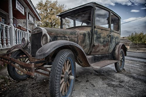 Free stock photo of model t, old car