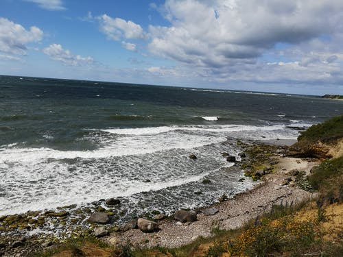 Free stock photo of horizon, waves