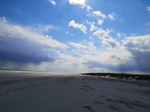 Free stock photo of beach, clouds, sky