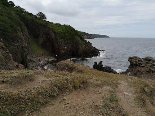 Free stock photo of coast, rock