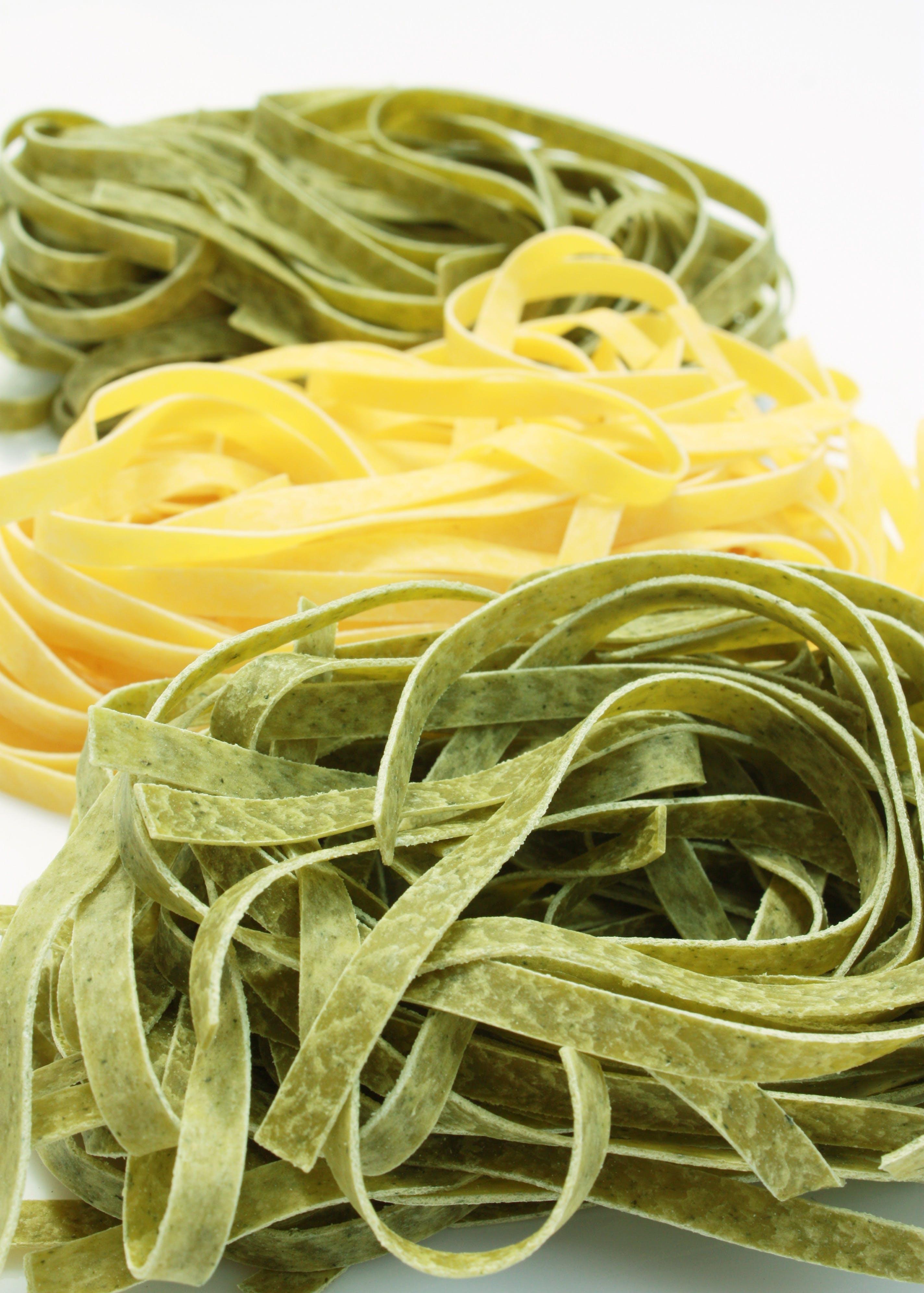 Gratis arkivbilde med egg pasta, fettuccine, frisk, italiensk