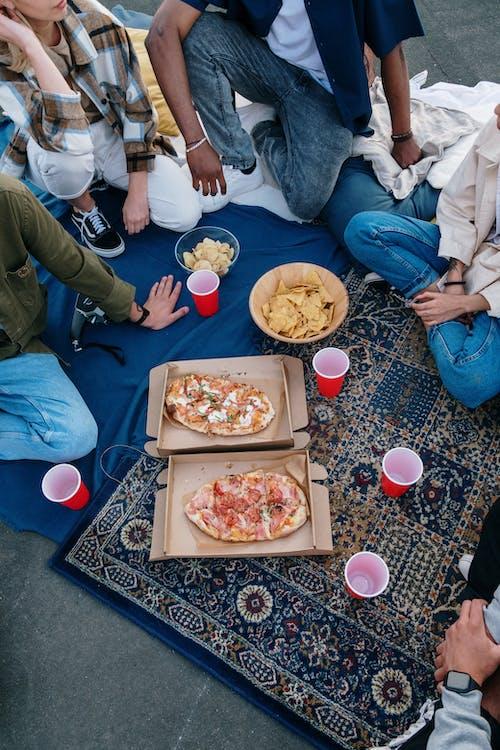 Foto stok gratis anonim, atap, berkumpul, bersama