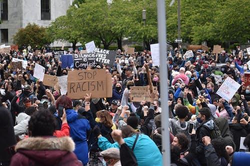 Fotos de stock gratuitas de acto electoral, juntarse, las vidas negras importan