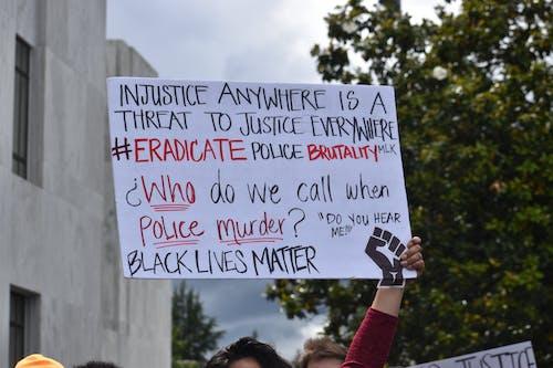 Fotos de stock gratuitas de firmar, injusticia, las vidas negras importan