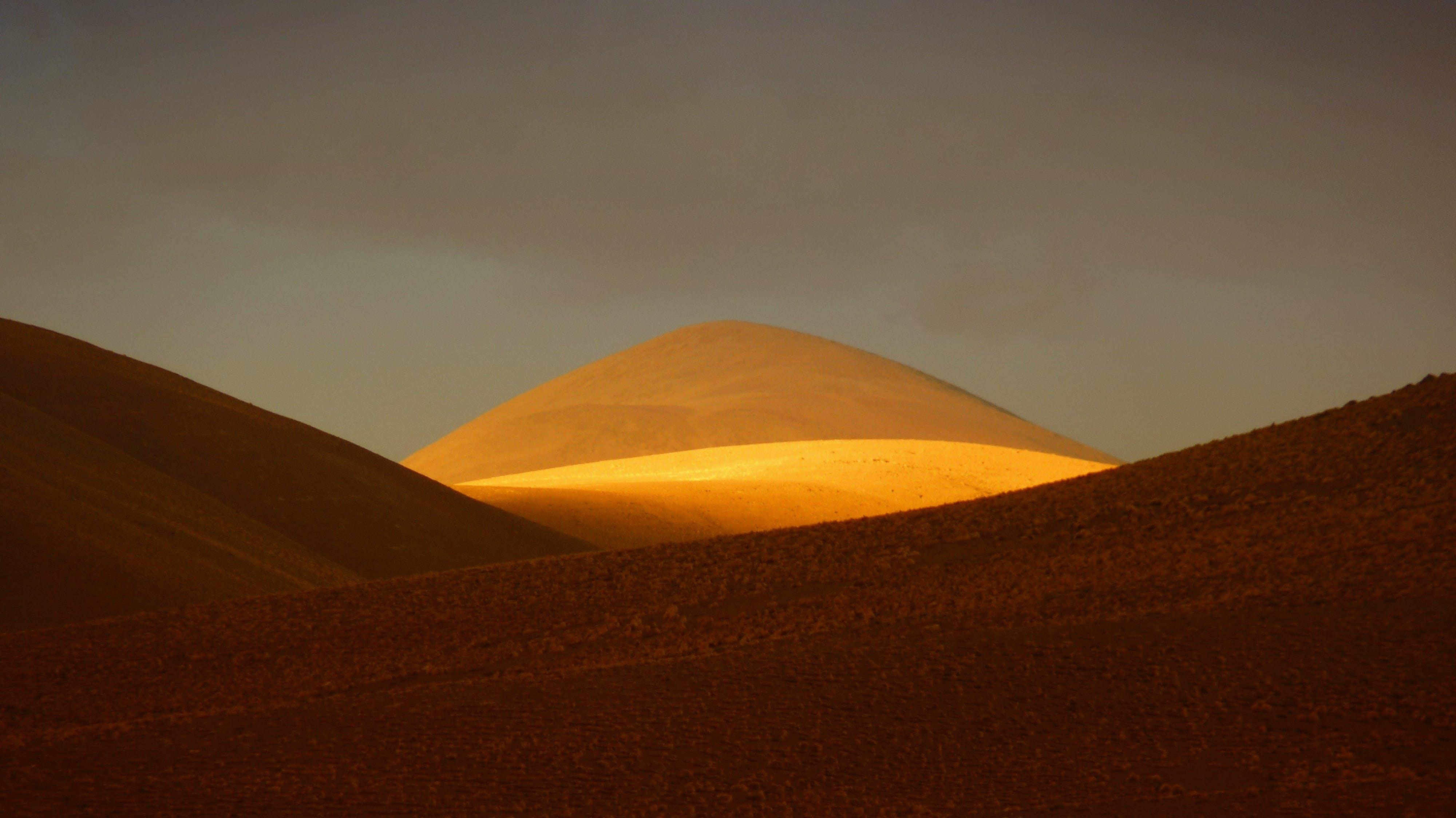 Orange and Red Desert