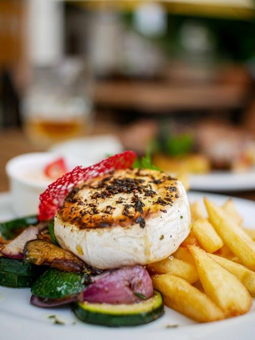 Fotos de stock gratuitas de almuerzo, apetecible, carne, cena