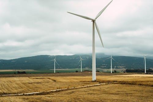 Foto d'estoc gratuïta de aerogenerador, alternativa, ambiental, ecologia