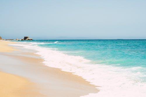 Foto d'estoc gratuïta de aigua, estiu, fer surf, idíl·lic