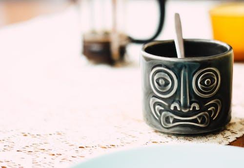 Gratis lagerfoto af årgang, bord, Bordservice, cappuccino