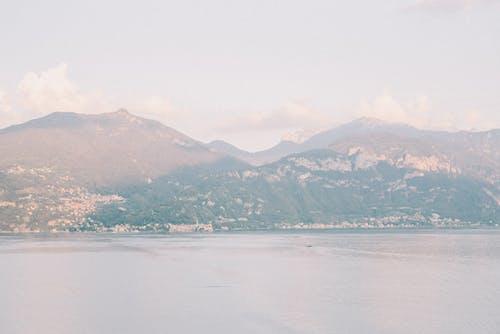 Základová fotografie zdarma na téma cestování, chybí pohled, como lake, hora