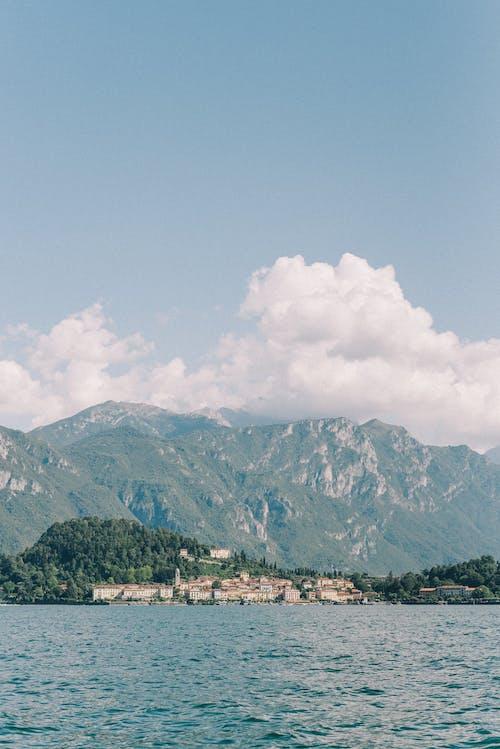 Základová fotografie zdarma na téma cestování, chybí pohled, como lake, denní světlo
