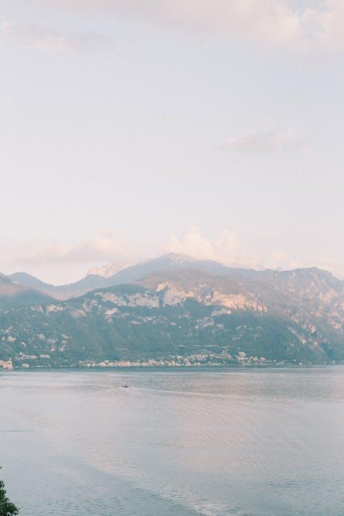 Základová fotografie zdarma na téma cestování, chybí pohled, člun, como lake