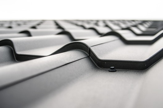 Free stock photo of black-and-white, rooftop, pattern, roof