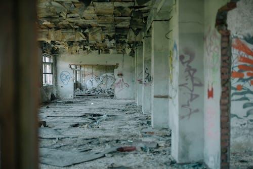 Δωρεάν στοκ φωτογραφιών με αποκάλυψη, αστικός, γκράφιτι, δυστοπία