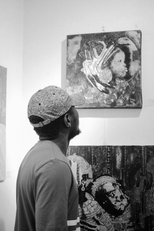 Kostenloses Stock Foto zu abbildung, afroamerikanischer mann, anonym