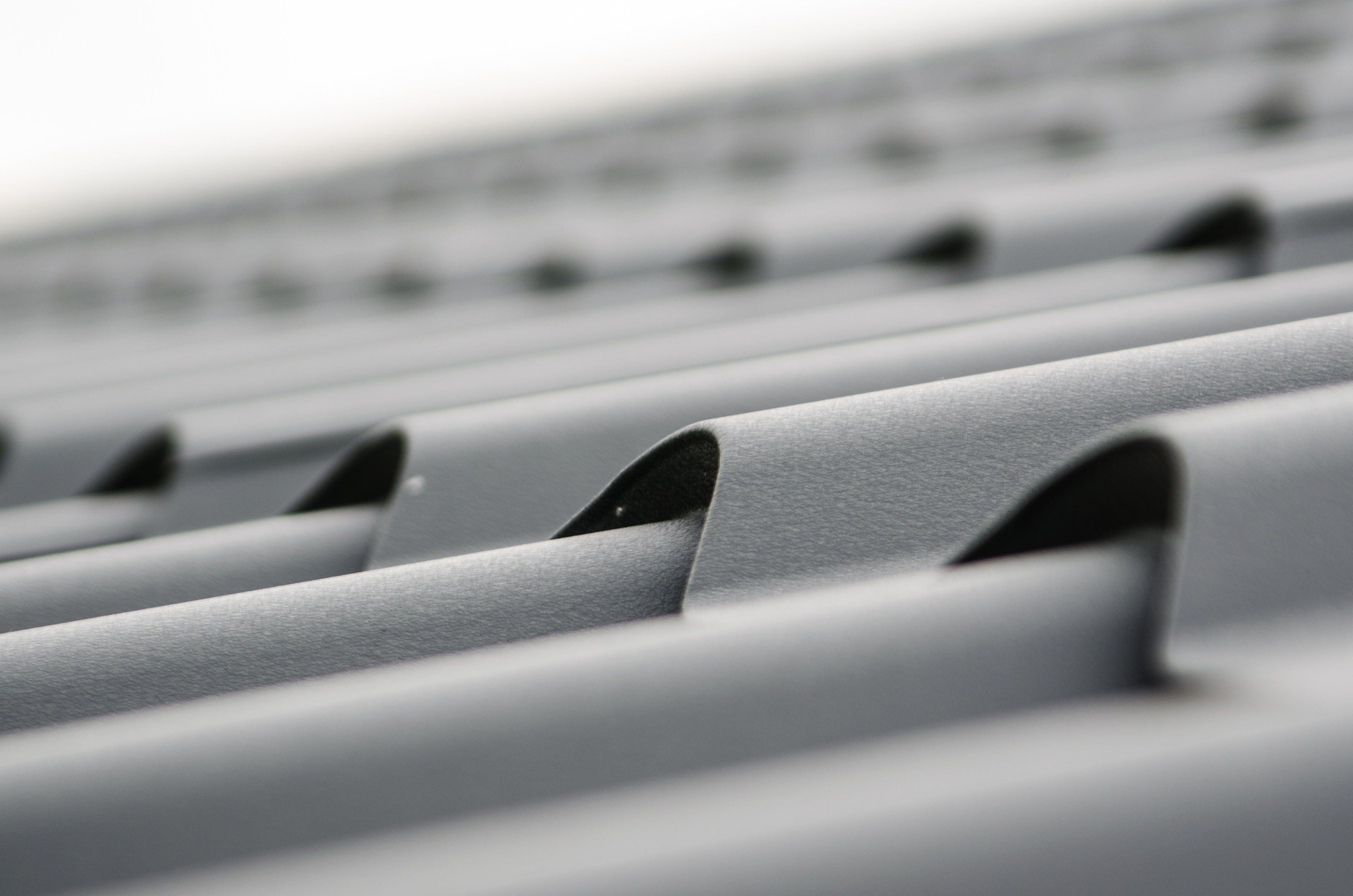 Gray Steel Sheet