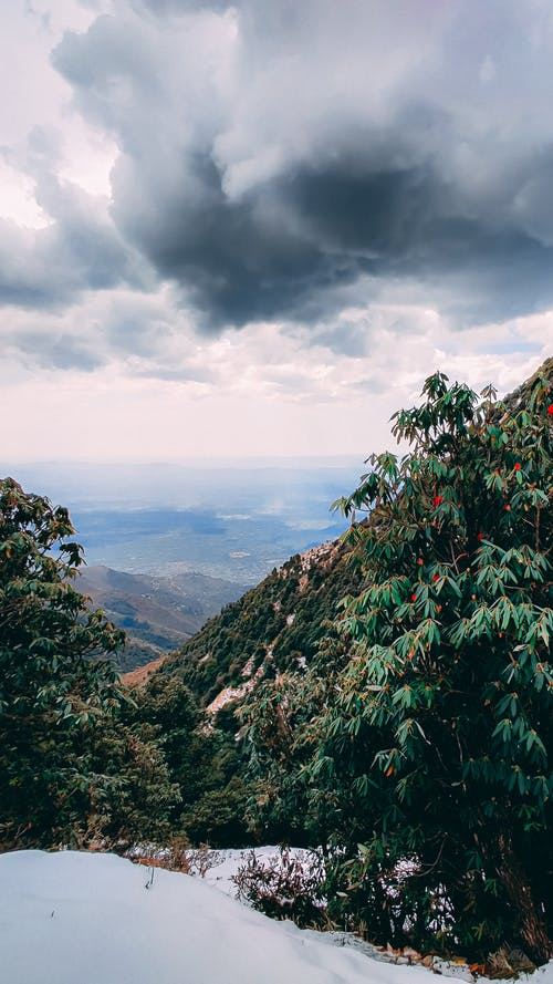 Free stock photo of clouds, green mountains, hd wallpaper