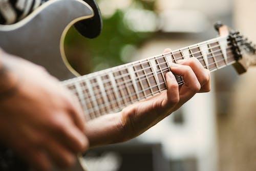 エレキギター, おとこ, ギター, パフォーマンスの無料の写真素材