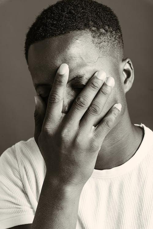 アダルト, おとこ, ストレス, まじめの無料の写真素材