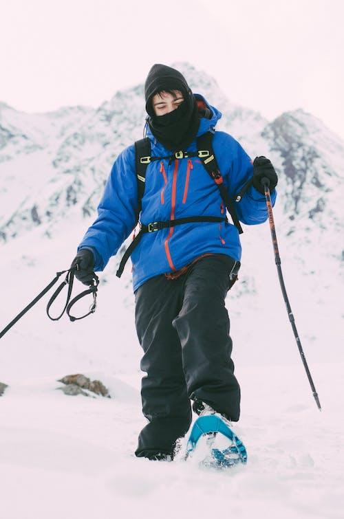 アダルト, クライマー, コールド, ハイキングの無料の写真素材