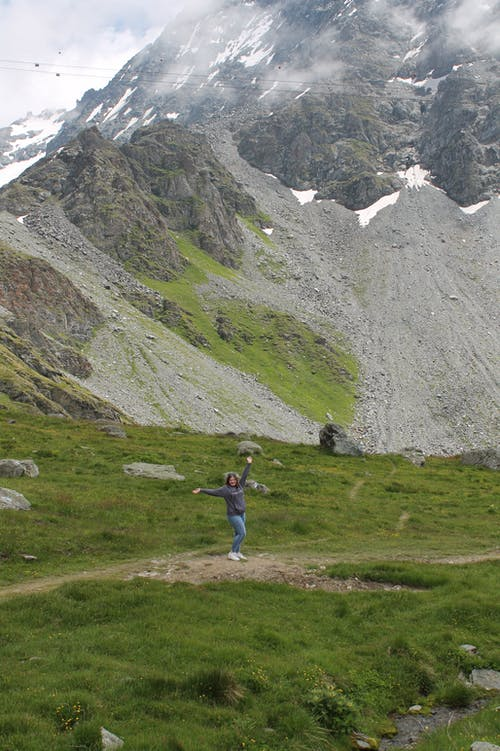 Ảnh lưu trữ miễn phí về con gái, đá, du lịch, núi