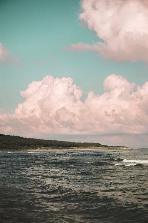 Darmowe zdjęcie z galerii z chmura, cichy, fala, harmonia