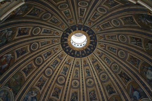 The Breathtaking View of the Interior of the Cupola Di San Pietro