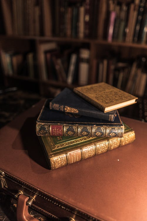 Free stock photo of antique, book, book bindings, book cover