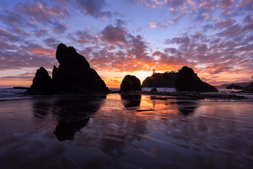 Δωρεάν στοκ φωτογραφιών με ακτή, άμμος, αντανάκλαση, θάλασσα