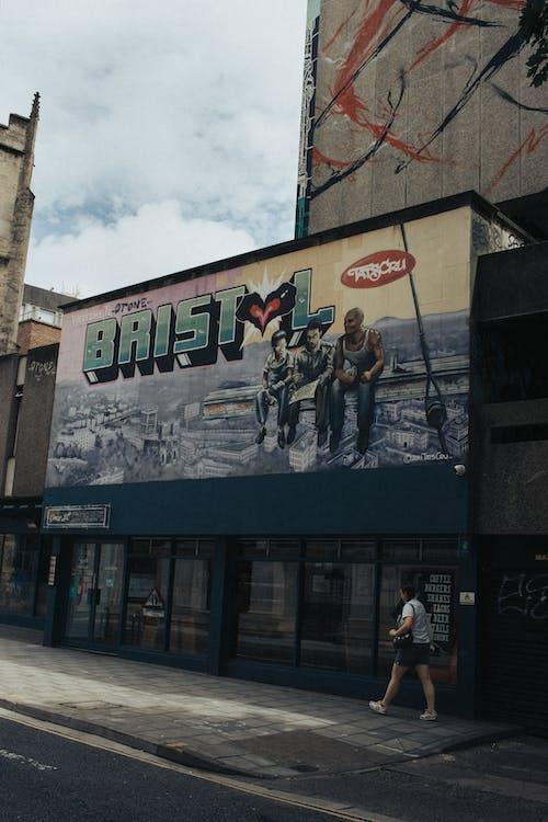 Free stock photo of banksy, bristol, buildings