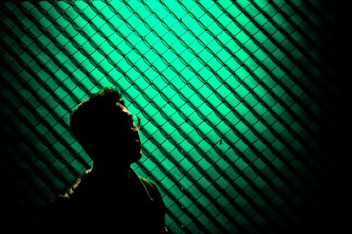 Foto stok gratis oscuro, retrato, verde
