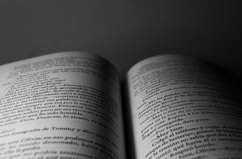 Free stock photo of hoja, lectura de libros, libro