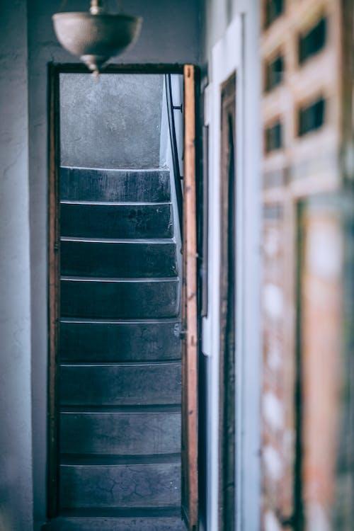 Interior Da Entrada Em Prédio Antigo