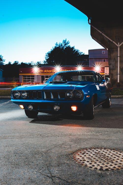 Gratis stockfoto met auto, automobiel, avenue, avond