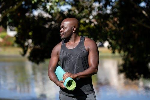 Foto profissional grátis de atleta, bem-estar, calvo