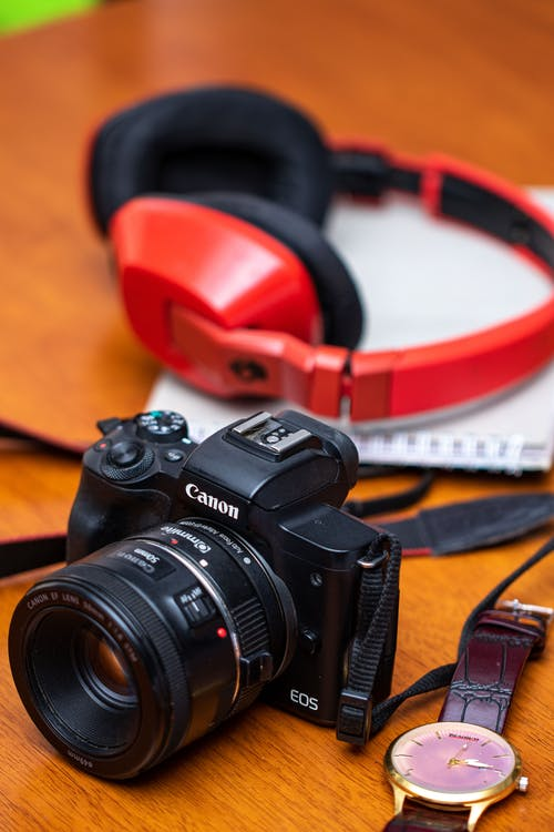 Free stock photo of 50mm prime, camera, canon m50, nifty fifty