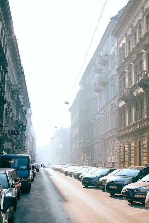 Fotobanka sbezplatnými fotkami na tému architektúra, asfalt, auto, automobil