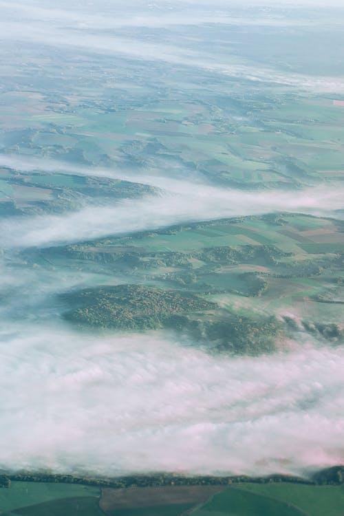 Erstaunliche Landschaft Der Grünen Felder