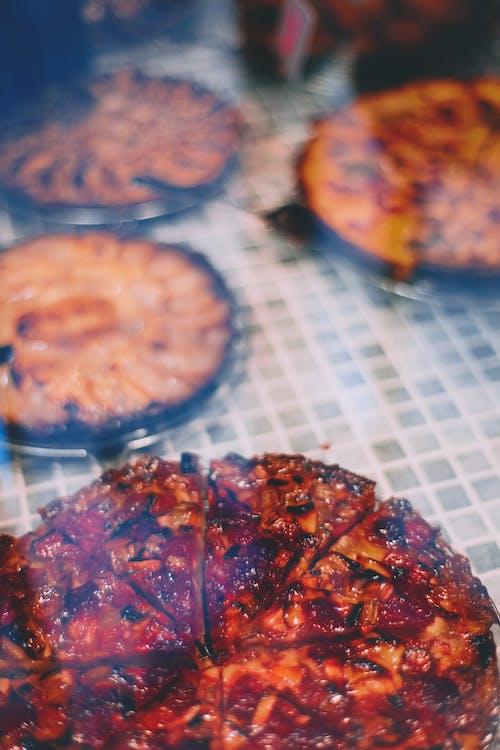 Geassorteerde Smakelijke Taarten Op Tafel Tijdens Feestelijke Gebeurtenis