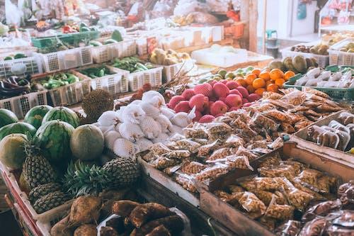 Foto d'estoc gratuïta de angle alt, Assortiment, bazar