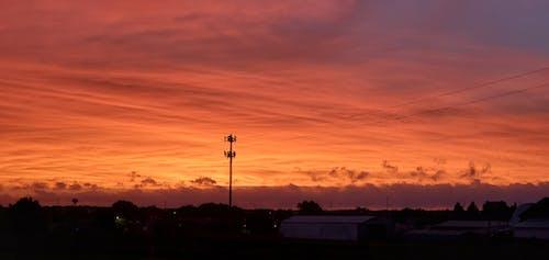Free stock photo of Beautiful sunset, evening sun, golden sunset