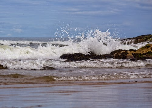 Free stock photo of beach, northumberland, ocean